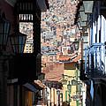 Calle Jaen La Paz by James Brunker