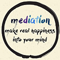 Calligraphy Mediation Make Real by Emilie Gerard