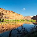 Calm Colorado River by Michael J Bauer