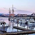 Calm In The Harbour by Jenny Hudson
