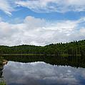 Calm Lake - Turbulent Sky by Georgia Mizuleva