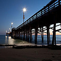 Calm Night At Newport Pier by Brad at  Newport Photo Works