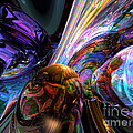 Calming Madness Abstract by Alexander Butler