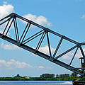 Caloosahatchee Train Draw Bridge by Carolyn Marshall