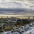 Calton Hill Panorama by Ross G Strachan