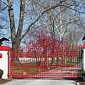 Calumet Farm Entrance by Roger Potts