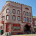 Calumet Hotel-1887 In Pipestone-minnesota  by Ruth Hager