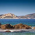 Calvi Citadel In Corsica by Jon Ingall