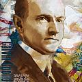 Calvin Coolidge by Corporate Art Task Force
