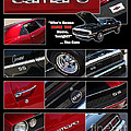 Camaro-drive - Poster by Gary Gingrich Galleries