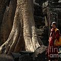 Cambodia Angkor Wat 7 by Bob Christopher