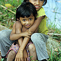Cambodian Children 02 by Rick Piper Photography