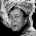 Cambodian Lady Smoker by Jennie Breeze