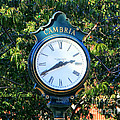 Cambria Square Time Clock by Tap On Photo