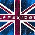 Cambridge Distressed Union Jack Flag by Mark E Tisdale