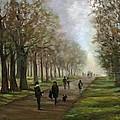 A Walk In Hyde Park London by Linda Dunbar