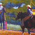 Camden Cowboy And Cowgirl by Diane Quee
