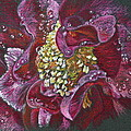 Camellia Rain by Michele Myers