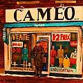 Cameo Dress Shop by Carole Spandau