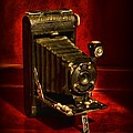Camera - Vintage Kodak Pocket Camera by Paul Ward