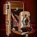 Camera - Vintage Polaroid Land Camera 80 by Paul Ward