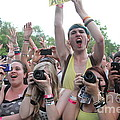Cameras In The Crowd by Concert Photos