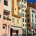 Camogli - Homes And Promenade by Antonio Scarpi