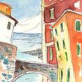 Camogli In Italy 04 by Miki De Goodaboom