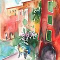Camogli In Italy 12 by Miki De Goodaboom
