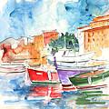 Camogli In Italy 14 by Miki De Goodaboom
