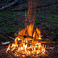 Camp Fire by Boon Mee