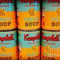 Campbell's Soup Retro Andy Warhol by Beth Ferris Sale