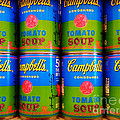 Campbell's Tomato Soup Retro Andy Warhol by Beth Ferris Sale