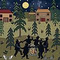 Campfire Dance by Medana Gabbard