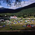 Camping by David McLain