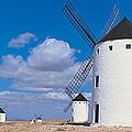 Campo De Criptana La Mancha Spain by Panoramic Images
