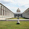Camposanto  Cathedral Pisa by Christiane Schulze Art And Photography