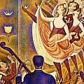 Can Can Le Chahut by Georges Seurat
