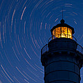 Cana Island Lighthouse Solstice by Steve Gadomski