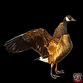 Canada Goose Pop Art - 7585 - Bb  by James Ahn
