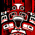 Canada - Inuit Village Totem by CHAZ Daugherty