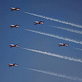 Canada Snowbirds  by Photographic Art by Russel Ray Photos