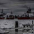 Canadian And United States Icebreakers by Ronald Grogan