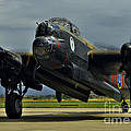 Canadian Avro Lancaster Bomber by Martyn Arnold
