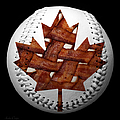 Canadian Bacon Lovers Baseball Square by Andee Design