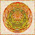 Canadian Fall Colors Conversion Into Chakra Wheel Deco Enery Mandala by Navin Joshi