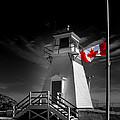 Canadian Flag Half-mast by Steve Hurt