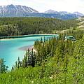 Canadian Highway Lake by Dan Callahan