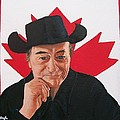 Canadian Icon Stompin' Tom Conners  by Sharon Duguay