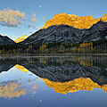 Canadian Rocky Mountain Autumn Landscape by Don Johnston